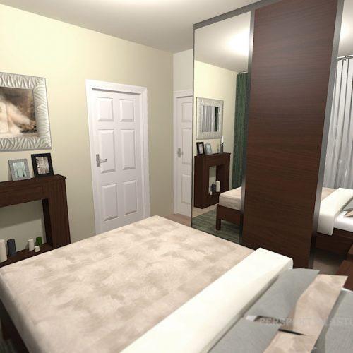 projekt-pokoju-projektowanie-wnętrz-lublin-perspektywa-studio-sypialnia-nowoczesna-brąz-zieleń-fototapeta-Gnu-92