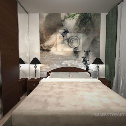 projekt-pokoju-projektowanie-wnętrz-lublin-perspektywa-studio-sypialnia-nowoczesna-brąz-zieleń-fototapeta-Gnu-93