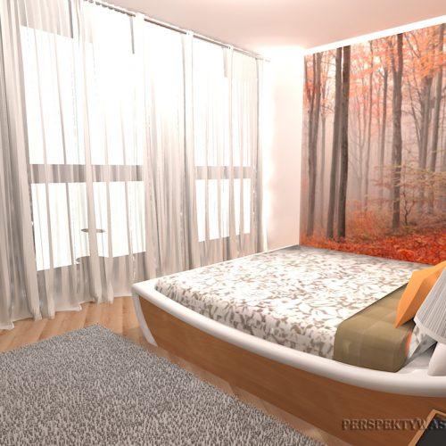 projekt-pokoju-projektowanie-wnętrz-lublin-perspektywa-studio-sypialnia-nowoczesna-inne-łóżko-wezgłowie-wnęka-fototapeta-Jesienny-las-67