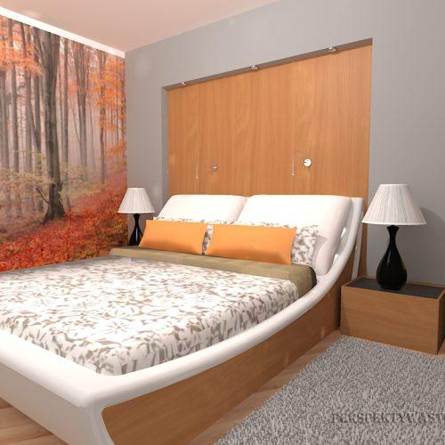 projekt-pokoju-projektowanie-wnętrz-lublin-perspektywa-studio-sypialnia-nowoczesna-inne-łóżko-wezgłowie-wnęka-fototapeta-Jesienny-las-69