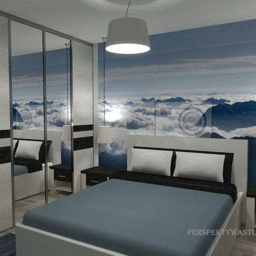 projekt-pokoju-projektowanie-wnętrz-lublin-perspektywa-studio-sypialnia-nowoczesna-z-tapetą-błękit-W-chmurach-29