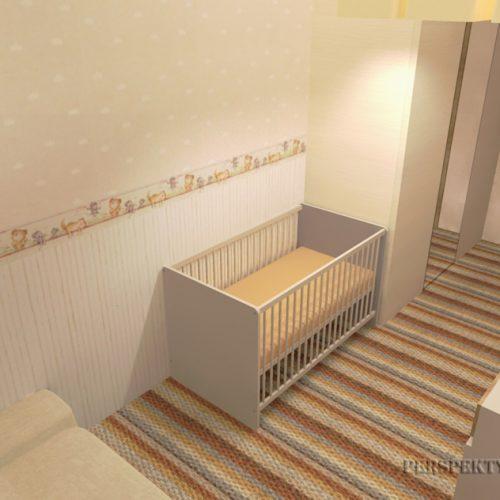 projekt-pokoju-projektowanie-wnętrz-lublin-perspektywa-studio-sypialnia-pokoik-dla-mamy-i-małego-dziecka-Maleństwo-10