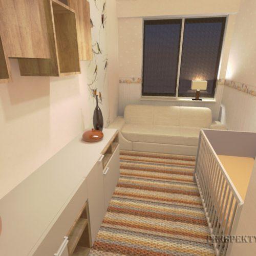 projekt-pokoju-projektowanie-wnętrz-lublin-perspektywa-studio-sypialnia-pokoik-dla-mamy-i-małego-dziecka-Maleństwo-11
