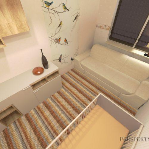 projekt-pokoju-projektowanie-wnętrz-lublin-perspektywa-studio-sypialnia-pokoik-dla-mamy-i-małego-dziecka-Maleństwo-12
