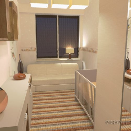 projekt-pokoju-projektowanie-wnętrz-lublin-perspektywa-studio-sypialnia-pokoik-dla-mamy-i-małego-dziecka-Maleństwo-8