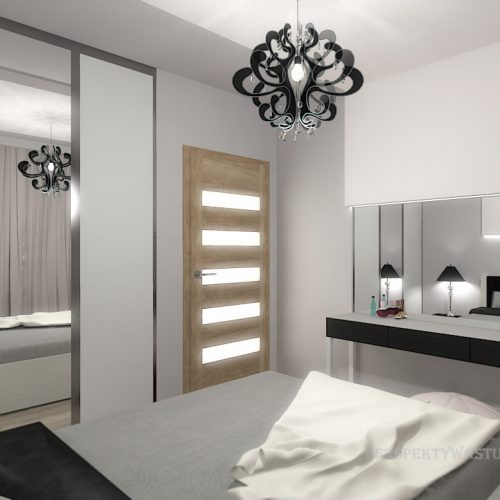 projekt-pokoju-projektowanie-wnętrz-lublin-perspektywa-studio-sypialnia-szara-z-czarnym-Grey-1