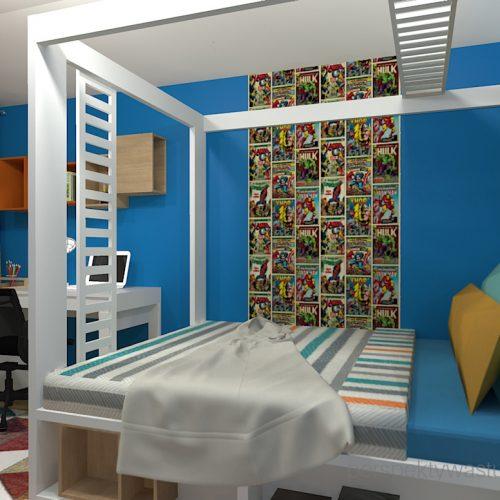 projekt-pokoju-salonu-projektowanie-wnętrz-lublin-perspektywa-studio-pokój-dla-chłopca-10-lat-Marvel-1
