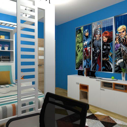 projekt-pokoju-salonu-projektowanie-wnętrz-lublin-perspektywa-studio-pokój-dla-chłopca-10-lat-Marvel-3