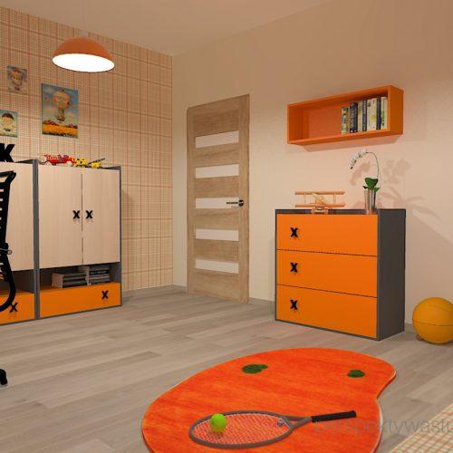 projekt-pokoju-salonu-projektowanie-wnętrz-lublin-perspektywa-studio-pokój-dla-chłopca-6-lat-pomarańczowy-Dusty-4