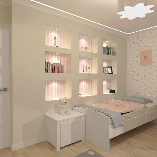 projekt-pokoju-salonu-projektowanie-wnętrz-lublin-perspektywa-studio-pokój-dziewczynki-6-lat-prostokatne-wnęki-kolor-róż-i-beż-Motyle-2