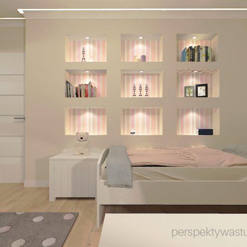 projekt-pokoju-salonu-projektowanie-wnętrz-lublin-perspektywa-studio-pokój-dziewczynki-6-lat-prostokatne-wnęki-kolor-róż-i-beż-Motyle-3