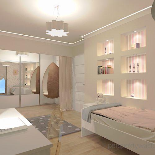 projekt-pokoju-salonu-projektowanie-wnętrz-lublin-perspektywa-studio-pokój-dziewczynki-6-lat-prostokatne-wnęki-kolor-róż-i-beż-Motyle-6
