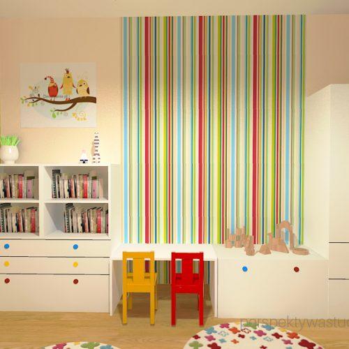 projekt-pokoju-salonu-projektowanie-wnętrz-lublin-perspektywa-studio-pokoj-dziewczynki-2-lata-kolorowy-tapety-meble-z-ikei-Moc-kolorów-2
