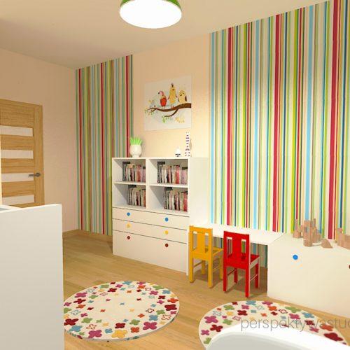 projekt-pokoju-salonu-projektowanie-wnętrz-lublin-perspektywa-studio-pokoj-dziewczynki-2-lata-kolorowy-tapety-meble-z-ikei-Moc-kolorów-3