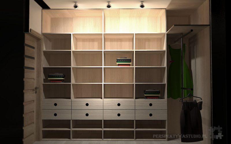 projekt-przedpokoju-projektowanie-wnętrz-lublin-perspektywa-studio-garderoba-Szafa-2