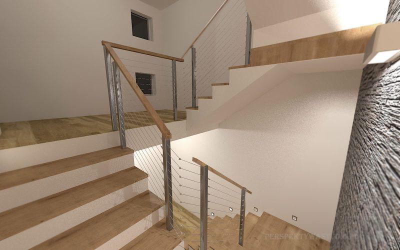 projekt-przedpokoju-projektowanie-wnętrz-lublin-perspektywa-studio-klatka-schodowa-G-łupek-2