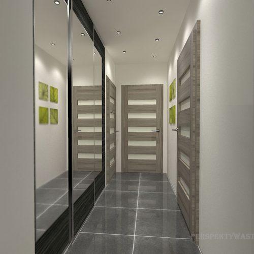 projekt-przedpokoju-projektowanie-wnętrz-lublin-perspektywa-studio-przedpokój-Liście-1