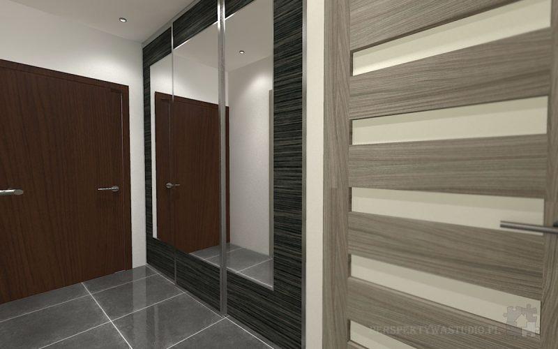 projekt-przedpokoju-projektowanie-wnętrz-lublin-perspektywa-studio-przedpokój-Liście-3