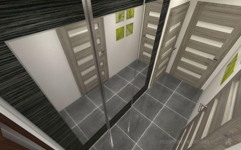 projekt-przedpokoju-projektowanie-wnętrz-lublin-perspektywa-studio-przedpokój-Liście-4