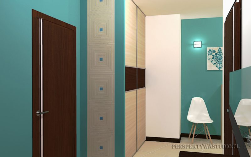 projekt-przedpokoju-projektowanie-wnętrz-lublin-perspektywa-studio-przedpokój-Motyw-3