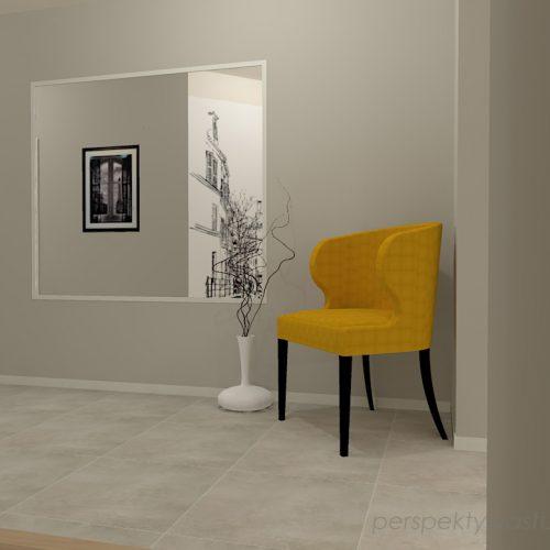 projekt-przedpokoju-projektowanie-wnętrz-lublin-perspektywa-studio-przedpokój-minimalistyczny-lustro-klejone-na-ścinie-białe-drzwi-Epoxy-1