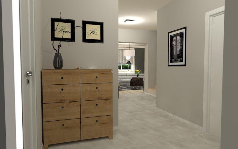 projekt-przedpokoju-projektowanie-wnętrz-lublin-perspektywa-studio-przedpokój-minimalistyczny-lustro-klejone-na-ścinie-białe-drzwi-Epoxy-2