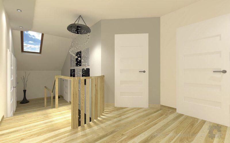 projekt-przedpokoju-projektowanie-wnętrz-lublin-perspektywa-studio-przedpokój-schody-Kaskada-1