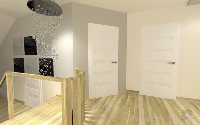 projekt-przedpokoju-projektowanie-wnętrz-lublin-perspektywa-studio-przedpokój-schody-Kaskada-5