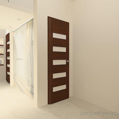 projekt-przedpokoju-projektowanie-wnętrz-lublin-perspektywa-studio-przedpokój-z-fototapetą-powiększającą-wnętrze-Kolumnada-3