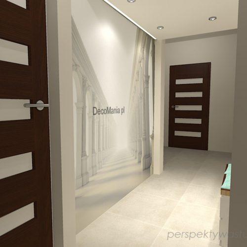 projekt-przedpokoju-projektowanie-wnętrz-lublin-perspektywa-studio-przedpokój-z-fototapetą-powiększającą-wnętrze-Kolumnada-5