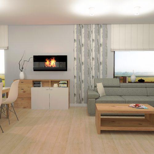 projekt-salonu-kuchni-projektowanie-wnętrz-lublin-perspektywa-studio-projekt-nowoczesny-białe-lakierowane-fronty-Brzozowy-las-2