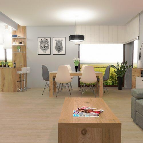 projekt-salonu-kuchni-projektowanie-wnętrz-lublin-perspektywa-studio-projekt-nowoczesny-białe-lakierowane-fronty-Brzozowy-las-3