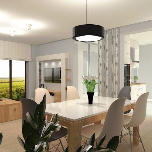 projekt-salonu-kuchni-projektowanie-wnętrz-lublin-perspektywa-studio-projekt-nowoczesny-białe-lakierowane-fronty-Brzozowy-las-6
