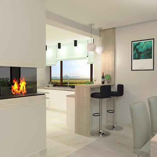 projekt-salonu-kuchni-projektowanie-wnętrz-lublin-perspektywa-studio-projekt-nowoczesny-białe-lakierowane-fronty-Odlot-2