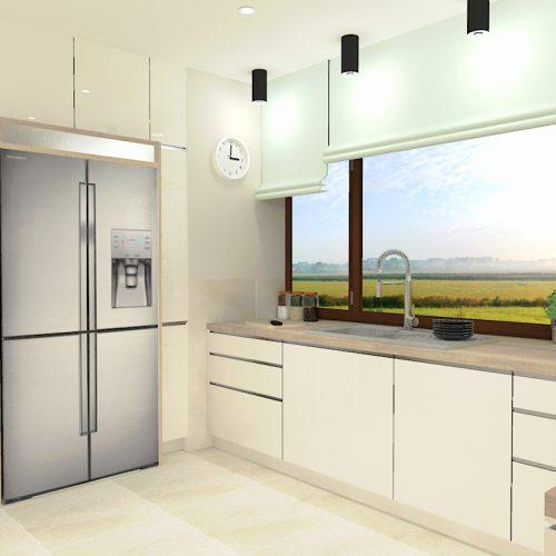 projekt-salonu-kuchni-projektowanie-wnętrz-lublin-perspektywa-studio-projekt-nowoczesny-białe-lakierowane-fronty-Odlot-3