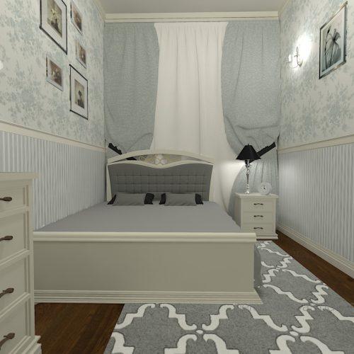 projekt-sypialni-projektowanie-wnętrz-lublin-perspektywa-studio-sypialnia-klasyczna-meble-białe-szare-tapety-tkaniny-w-sypialni-Bieg-królowej-Wiktorii-31