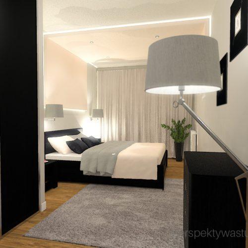 projekt-sypialni-projektowanie-wnętrz-lublin-perspektywa-studio-sypialnia-nowoczesna-ciemne-meble-w-sypialni-szarości-i-róż-baldachim-z-podświetleniem-led-Love-24