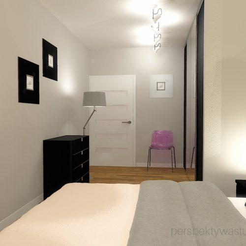 projekt-sypialni-projektowanie-wnętrz-lublin-perspektywa-studio-sypialnia-nowoczesna-ciemne-meble-w-sypialni-szarości-i-róż-baldachim-z-podświetleniem-led-Love-27