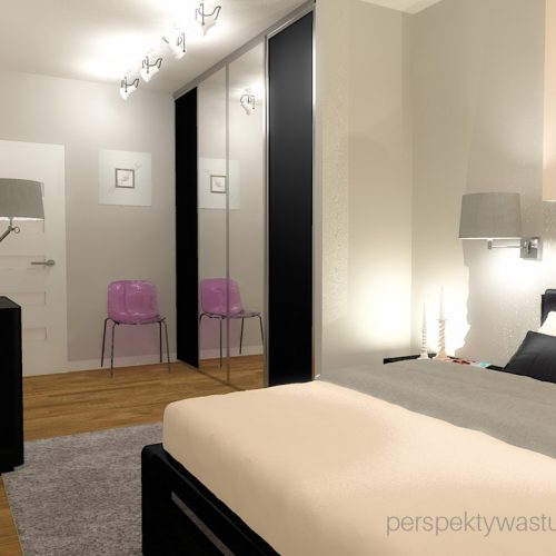 projekt-sypialni-projektowanie-wnętrz-lublin-perspektywa-studio-sypialnia-nowoczesna-ciemne-meble-w-sypialni-szarości-i-róż-baldachim-z-podświetleniem-led-Love-28
