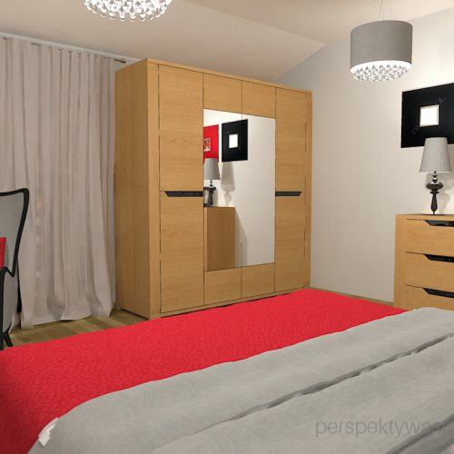 projekt-sypialni-projektowanie-wnętrz-lublin-perspektywa-studio-sypialnia-nowoczesna-dębowe-meble-carvalo-Red-hot-20