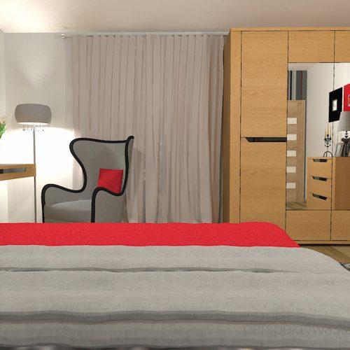 projekt-sypialni-projektowanie-wnętrz-lublin-perspektywa-studio-sypialnia-nowoczesna-dębowe-meble-carvalo-Red-hot-21