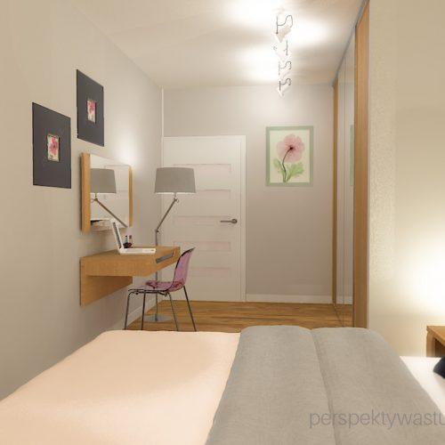 projekt-sypialni-projektowanie-wnętrz-lublin-perspektywa-studio-sypialnia-nowoczesna-meble-dębowe-fototapeta-powiększająca-wnętrze-baldachim-z-tasmą-led-Kwiat-jabłoni-13