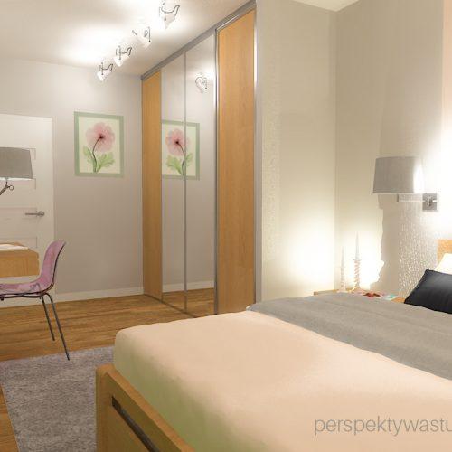 projekt-sypialni-projektowanie-wnętrz-lublin-perspektywa-studio-sypialnia-nowoczesna-meble-dębowe-fototapeta-powiększająca-wnętrze-baldachim-z-tasmą-led-Kwiat-jabłoni-14