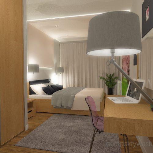 projekt-sypialni-projektowanie-wnętrz-lublin-perspektywa-studio-sypialnia-nowoczesna-meble-dębowe-fototapeta-powiększająca-wnętrze-baldachim-z-tasmą-led-Kwiat-jabłoni-15