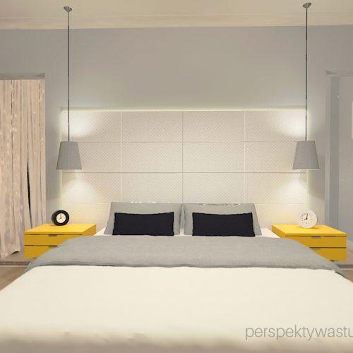 projekt-sypialni-projektowanie-wnętrz-lublin-perspektywa-studio-sypialnia-styl-skandynawski-żółte-meble-tapicerowane-wezgłowie-Skadynawia-1