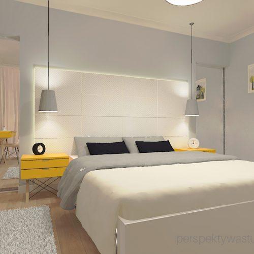 projekt-sypialni-projektowanie-wnętrz-lublin-perspektywa-studio-sypialnia-styl-skandynawski-żółte-meble-tapicerowane-wezgłowie-Skadynawia-3