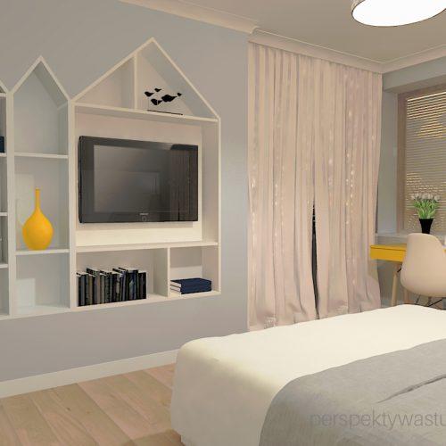 projekt-sypialni-projektowanie-wnętrz-lublin-perspektywa-studio-sypialnia-styl-skandynawski-żółte-meble-tapicerowane-wezgłowie-Skadynawia-4