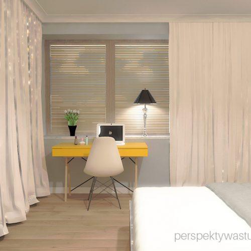 projekt-sypialni-projektowanie-wnętrz-lublin-perspektywa-studio-sypialnia-styl-skandynawski-żółte-meble-tapicerowane-wezgłowie-Skadynawia-5