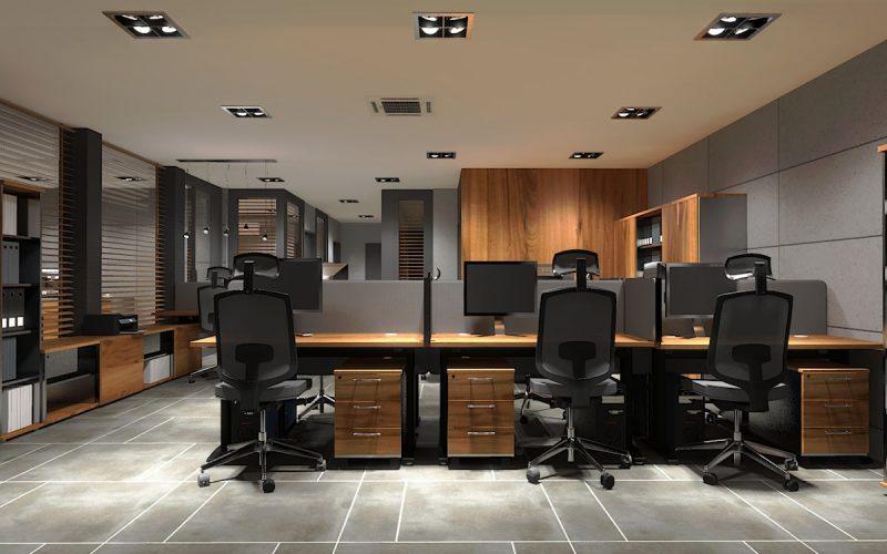 projektant-wnętrz-Lublin-wnętrza komercyjne-Biocent-biurowiec-siedziba-firmy-1
