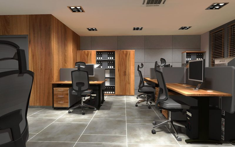 projektant-wnętrz-Lublin-wnętrza komercyjne-Biocent-biurowiec-siedziba-firmy-12